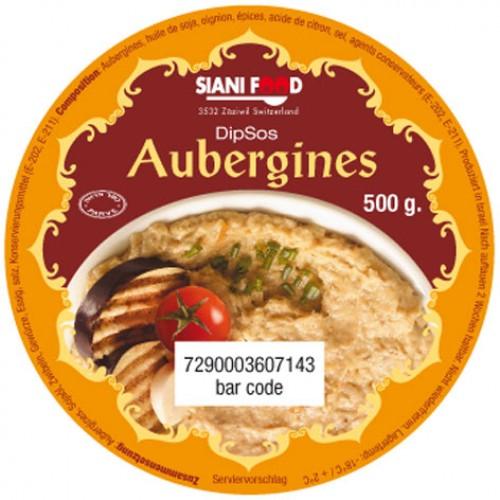 Aubergines grilled & chopped / caviar de aubergines